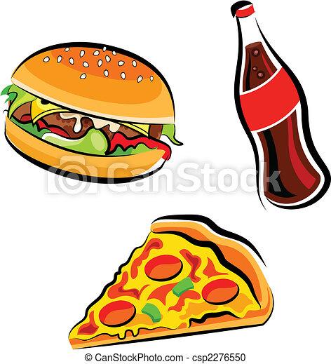 אוכל, מהיר - csp2276550