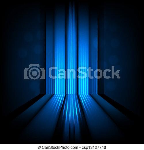 אור כחול, תקציר, קוים, רקע - csp13127748