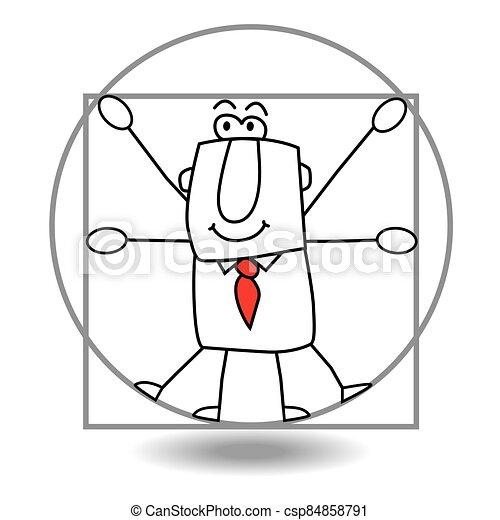 איש עסקים, מושלם - csp84858791