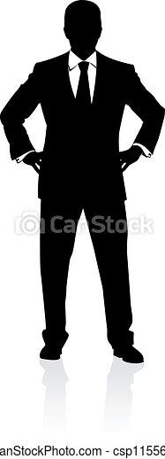איש של עסק - csp11556453