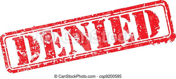 בול של גומי, הכחש - csp9200585