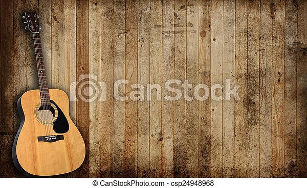 גיטרה - csp24948968