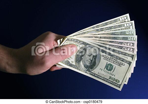 דולרים, מלוא יד - csp0180479