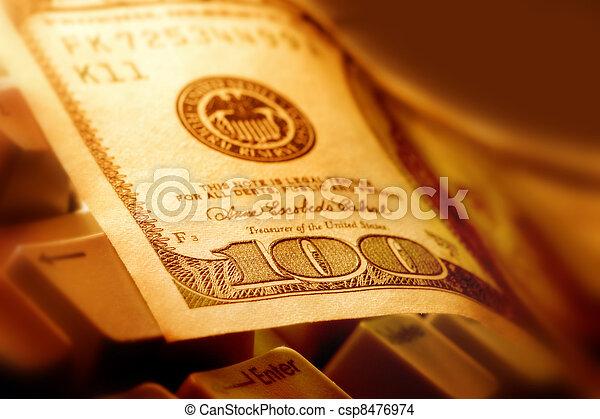 דולר, ראה, $100 - csp8476974
