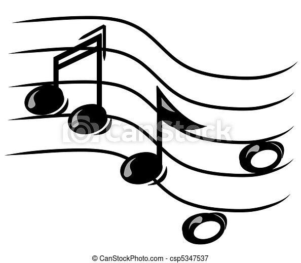 הערה מוסיקלית, צוות - csp5347537