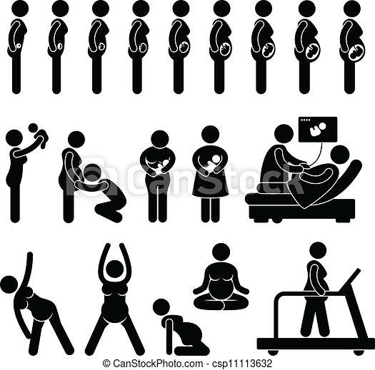 הריון, מעבד, בהריון, ביים - csp11113632
