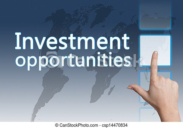 השקעה, הזדמנויות - csp14470834