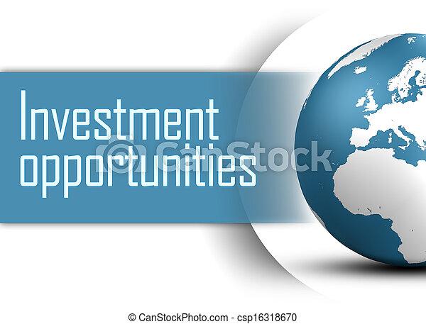 השקעה, הזדמנויות - csp16318670