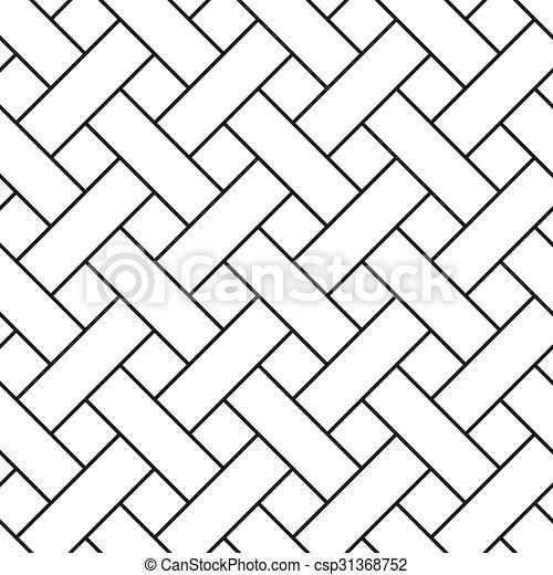 התפשט, גיאומטרי, pattern., seamless, דלה - csp31368752