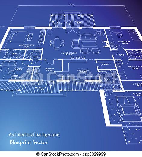 וקטור, blueprint. - csp5029939