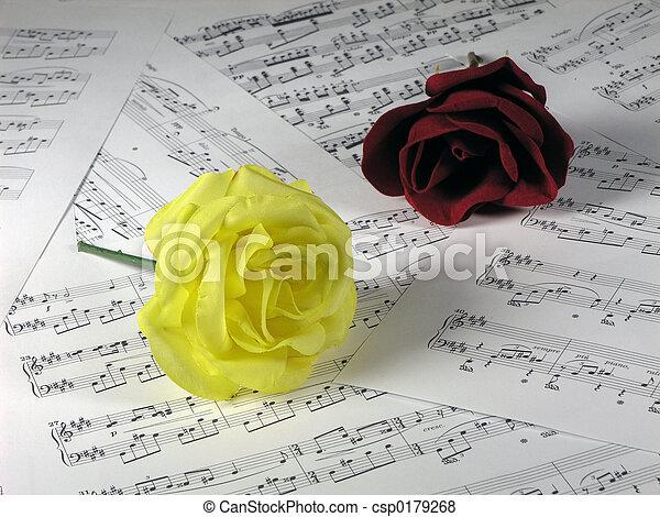 ורדים, מוסיקה - csp0179268