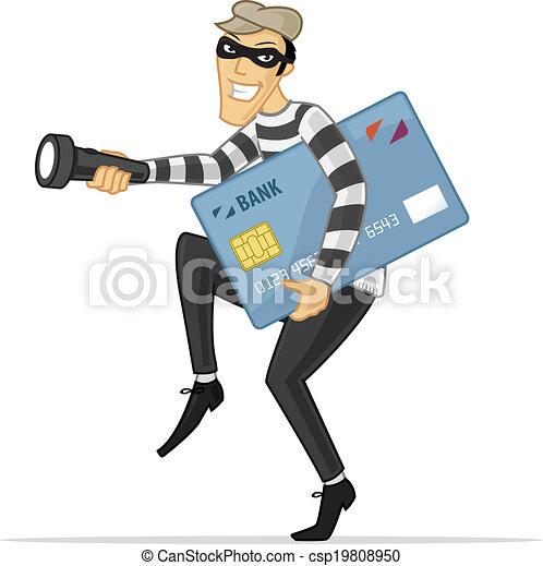 זכה, גנב, כרטיס - csp19808950