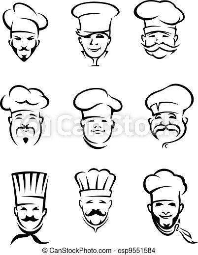 טבחים, מסעדה - csp9551584