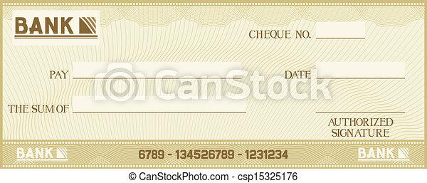 טקסט, בעל, שלך, בדוק, פסק - csp15325176