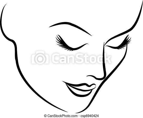 יפה, עצב, אישה, צפה - csp6940424