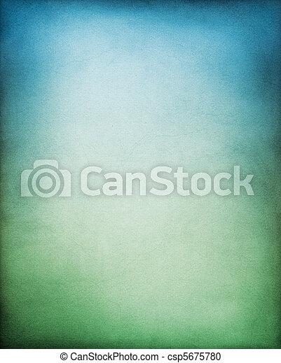 ירוק כחול, רקע - csp5675780
