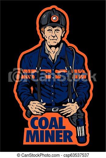 כורה של פחם - csp63537537