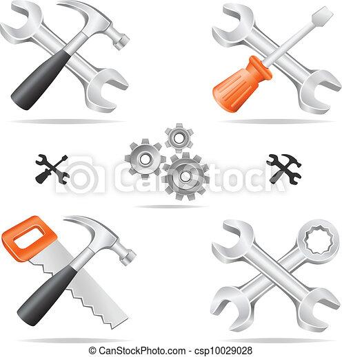כלים, קבע, איקון - csp10029028