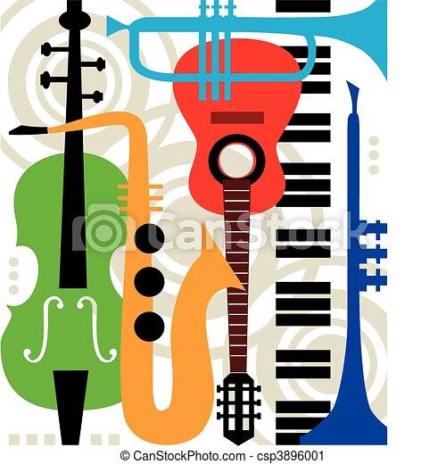 כלים, תקציר, וקטור, מוסיקה - csp3896001