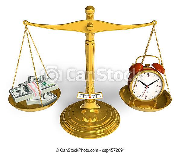 כסף, זמן - csp4572691