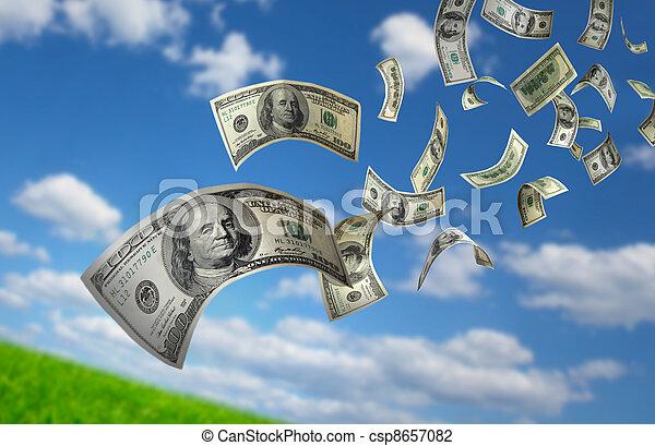 כסף, לפול, חשבונות, $100 - csp8657082