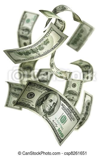כסף, לפול, חשבונות, $100 - csp8261651