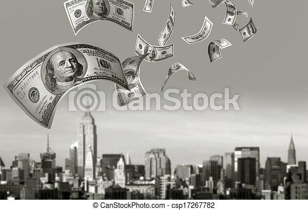 כסף, לפול, חשבונות, $100 - csp17267782