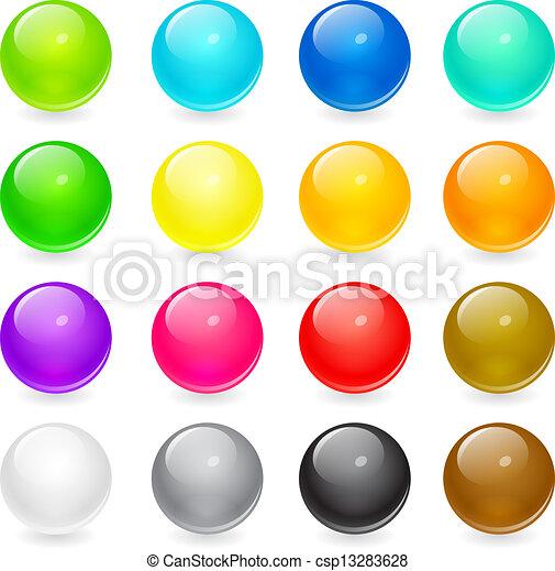 כפתורים, רשת - csp13283628