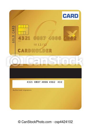 כרטיס אשראי - csp4424102
