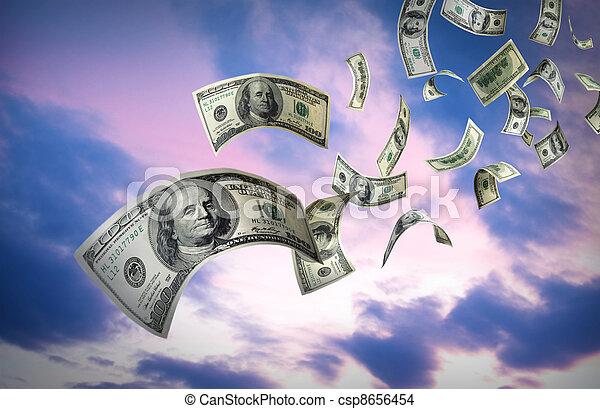 לפול כסף, חשבונות, $100 - csp8656454