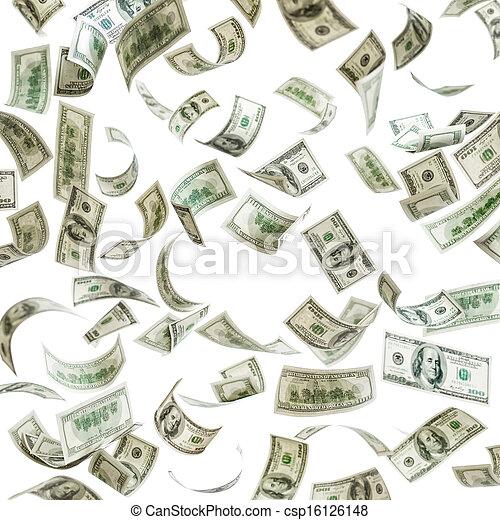 לפול, מאות דולר, כסף, חשבונות - csp16126148