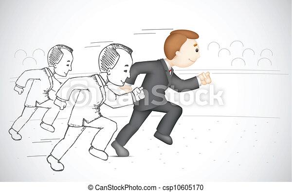 לרוץ, איש של עסק - csp10605170