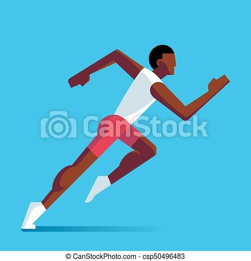 לרוץ, ספורטאי, דוגמה - csp50496483