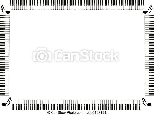 מוסיקה, גבול - csp0497194