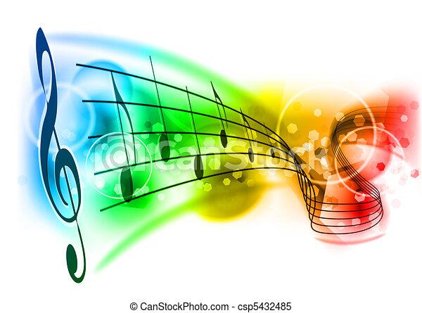 מוסיקה - csp5432485