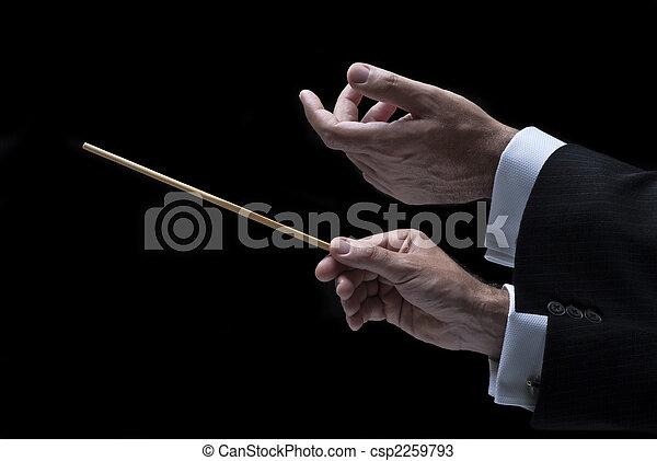 מוסיקה, מוביל - csp2259793