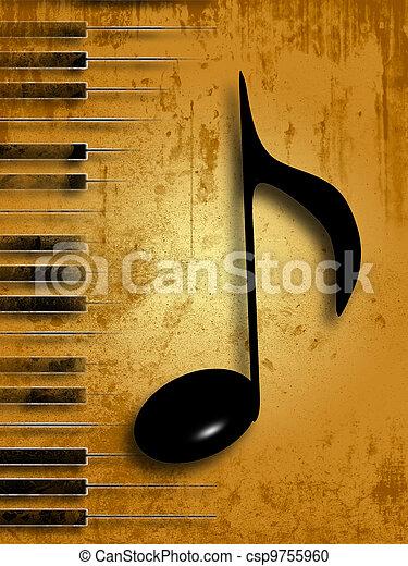 מוסיקה - csp9755960