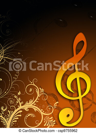 מוסיקה - csp9755962