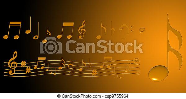 מוסיקה - csp9755964