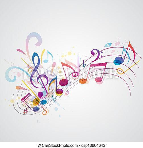 מוסיקה, רקע - csp10884643