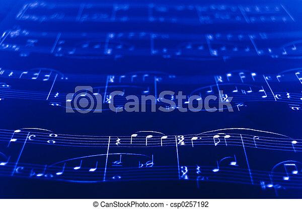 מוסיקה של דף - csp0257192