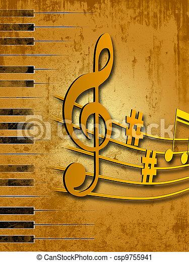 מוסיקה - csp9755941