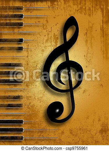 מוסיקה - csp9755961
