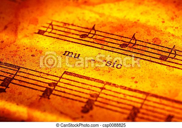 מוסיקה - csp0088825