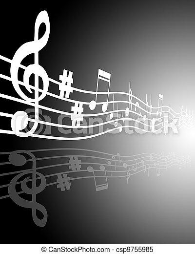 מוסיקה - csp9755985