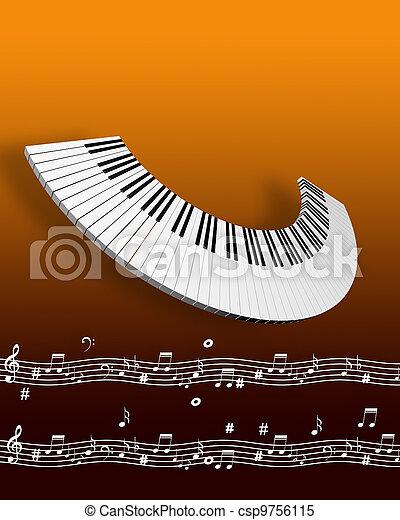 מוסיקה - csp9756115