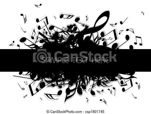 מוסיקלי, רקע - csp1801745