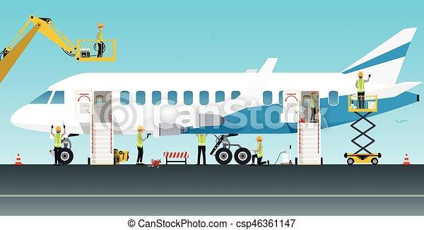 מטוס, מהנדס של תחזוקה - csp46361147