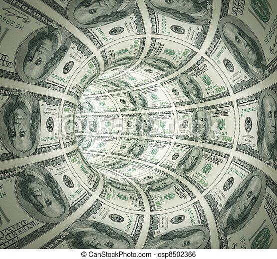 מנהרה, תקציר, עשה, כסף. - csp8502366