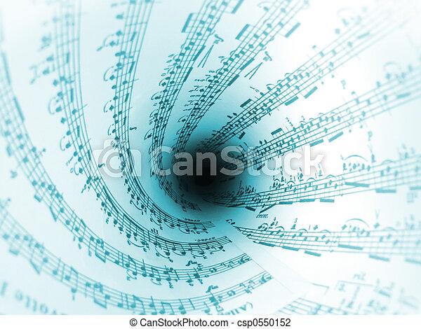 מערבולת, מוסיקה - csp0550152